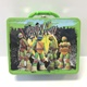 Teenage Mutant Ninja Turtles Green Embossed Lunch Box