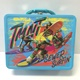 Teenage Mutant Ninja Turtles Blue Embossed Lunch Box