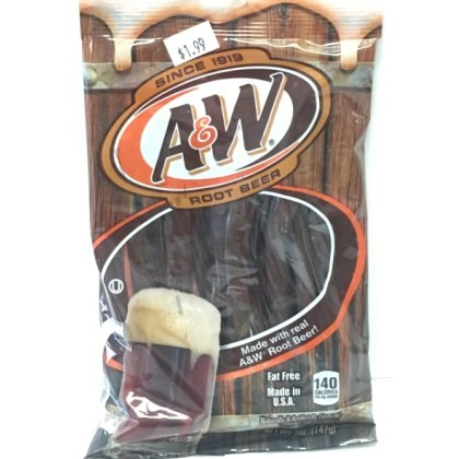 A W Root Beer Candy Twists