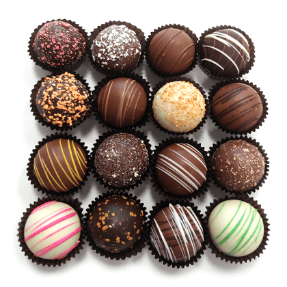 Assorted Jumbo Chocolate Truffles 8 ct