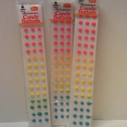 Candy Buttons 1 ea
