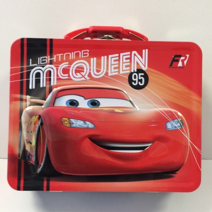 Cars Lightning McQueen Embossed Lunch Box