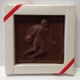 Basketball Plaque Solid Milk Chocolate