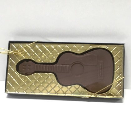 Guitar Acoustic Solid Milk Chocolate