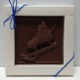Hockey Plaque Solid Milk Chocolate
