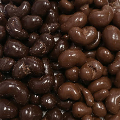 Chocolate Milk Covered Cashews 8 oz