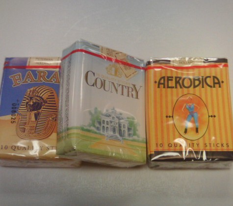 Chocolate Candy Cigarettes 1 ea