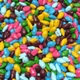 Cocoa Covered Candy Coated Sunflower Seeds 8 oz