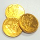 Gold Coins Chocolate Foiled Half Dollar Imported 6 oz