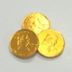 Gold Coins Chocolate Foiled Quarters Imported 6 oz