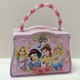 Disney Princess Pink Beaded Handle Purse Tin