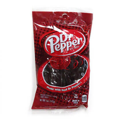 Dr Pepper Candy Twists