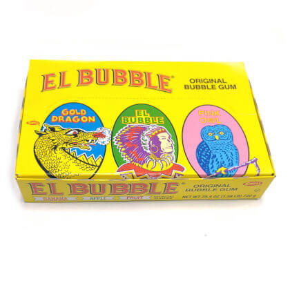 Bubble Gum Cigars El Bubble Assorted 3 ct