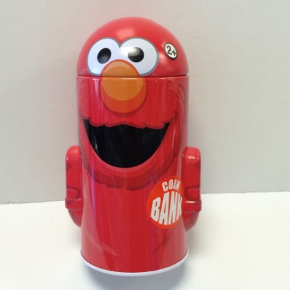 Elmo Head Shaped Bank