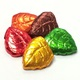 Fall Leaves Foiled Solid Gourmet Milk Chocolate 5 oz