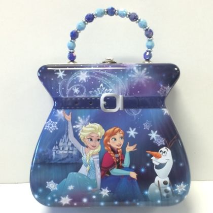 Disney Frozen Embossed Metal Purse