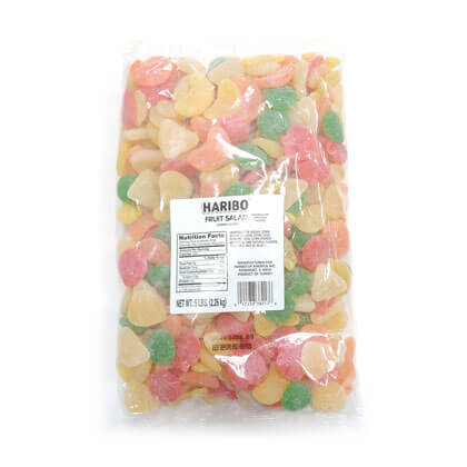 Gummi Fruit Salad Imported 5 lb