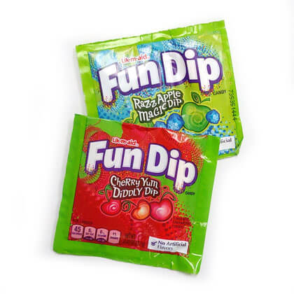 Wonka Fun Dip Treat Packs 10 ct