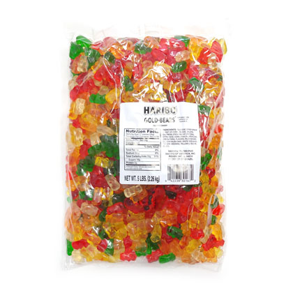 Gummi Bears Gold Imported 5 lb