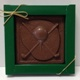 Golf Plaque Solid Milk Chocolate