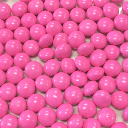 Chocolate Gourmet Mints Pink 12 oz