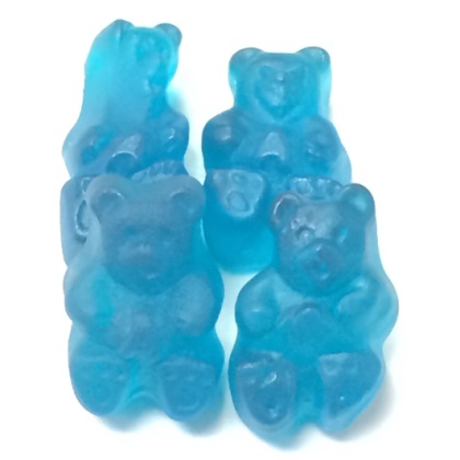 Gummi Bears Blue Raspberry 1 lb