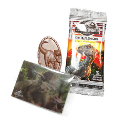 Jelly Belly Jurassic World Chocolate Dinosaur 1 ct