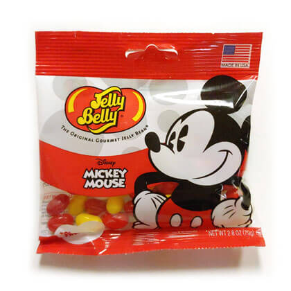 Jelly Belly Disney Mickey Mouse Peg Bag