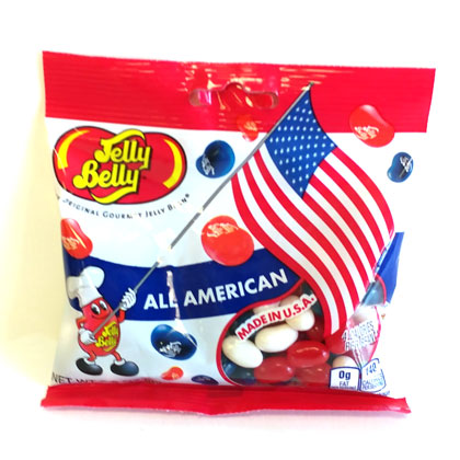 Jelly Belly All American Mix Peg Bag