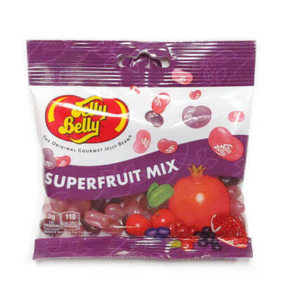 Jelly Belly Superfruit Mix Peg Bag