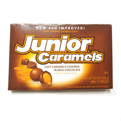 Junior Caramels Box