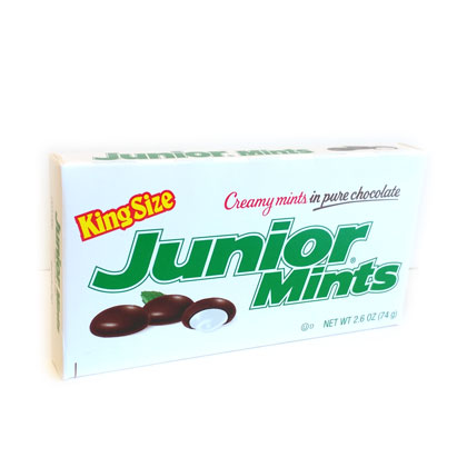 Junior Mints King Size Theater Box