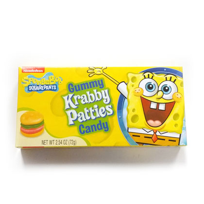 Krabby Patties Theater Box