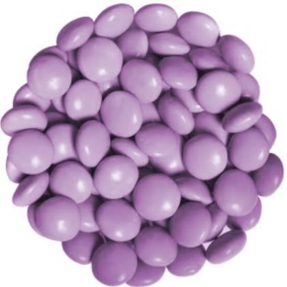Candy Drops Chocolate Purple Lavender 1 lb
