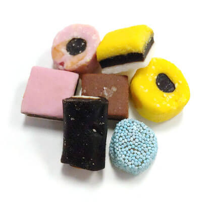 Licorice Allsorts Imported 10 oz
