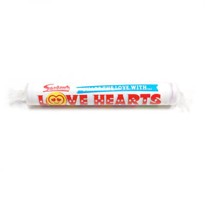 Swizzles Giant Love Hearts 1 roll