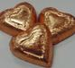 Hearts Copper Foiled Solid Dark Chocolate 5 oz