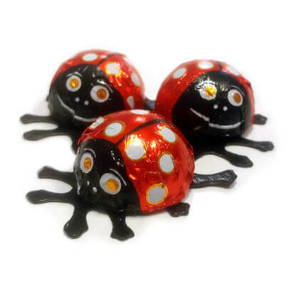 Lady Bugs Peanut Butter Filled 3 ct