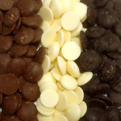 Melting Chocolate Wafers Merckens 5 lb