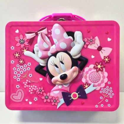 Minnie Embossed Lunch Box
