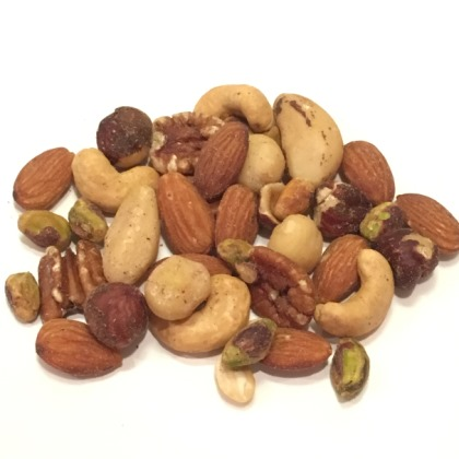 Assorted Mixed Nuts No Peanuts Salted 11 oz