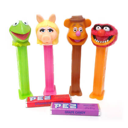 Pez Dispensers Muppets 1 ea