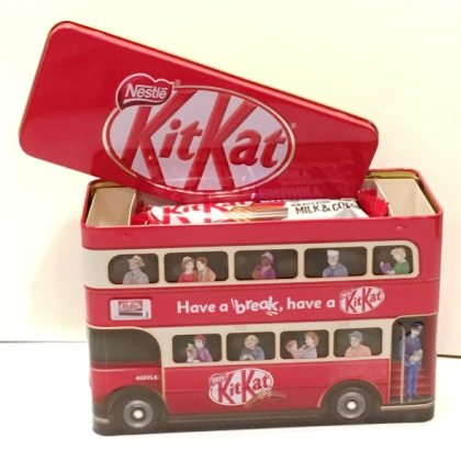 Nestle Imported Kit Kat Double Decker Bus Tin 326g