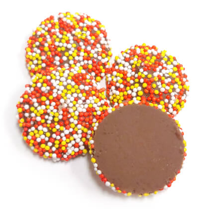 Chocolate Autumn Nonpareils Milk 8 oz