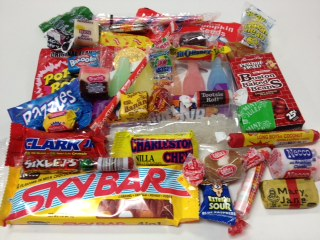 Nostalgic Candy Box Over 1 Pound
