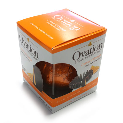 Orange Dark Chocolate Break Apart