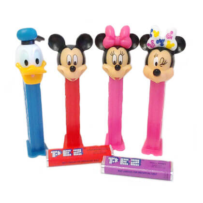 Pez Dispensers Mickey Mouse II 1 ea