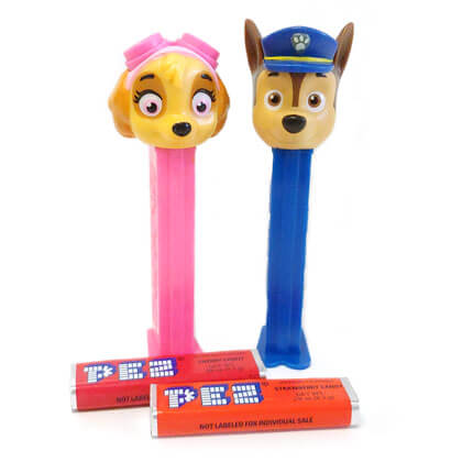 Pez Dispensers Paw Patrol 1 ea