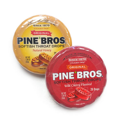 Pine Brothers Throat Drops 1 puck