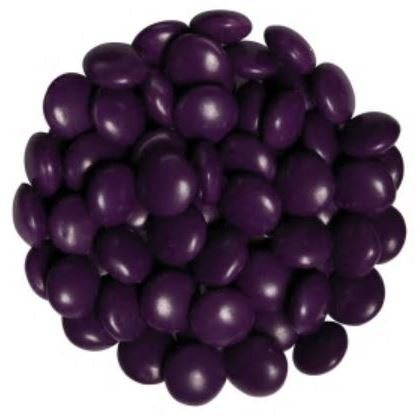 Candy Drops Chocolate Purple 1 lb